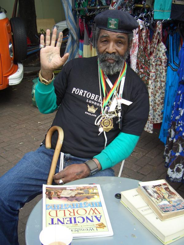 Rasta at Portobello Market, London, 2008