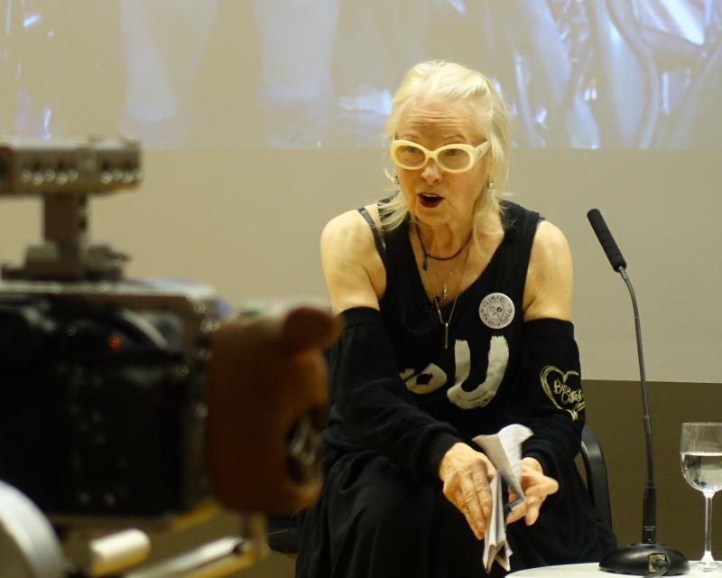 Vivienne Westwood, LSE Climate Change event, London, 2016