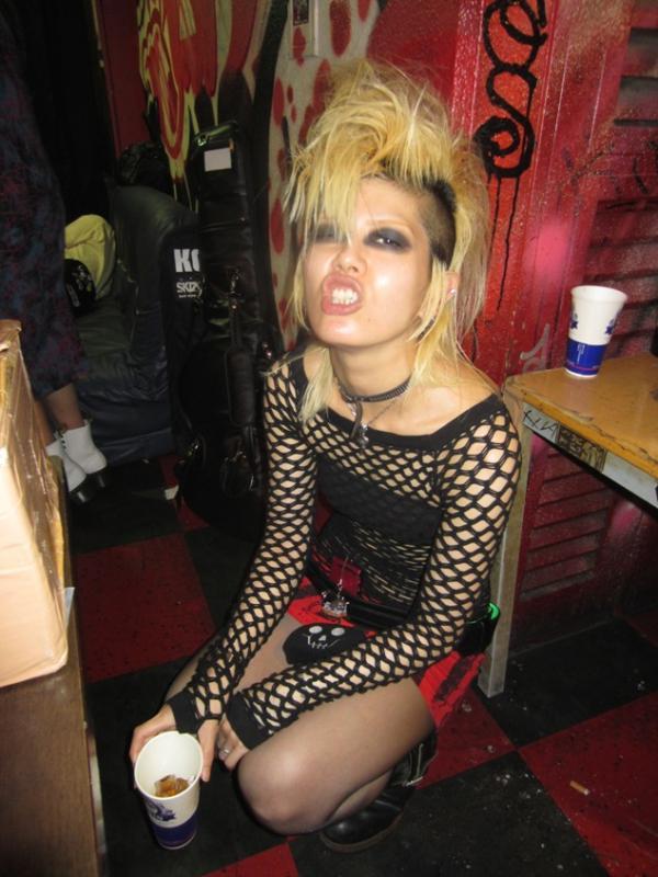 Deathrock fan, Tokyo, 2013