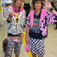 Tokyo club kids at Shinjuku Station, 2011