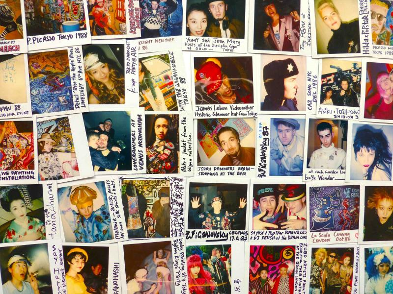 polaroids from 80s and 90s by Mark Wigan