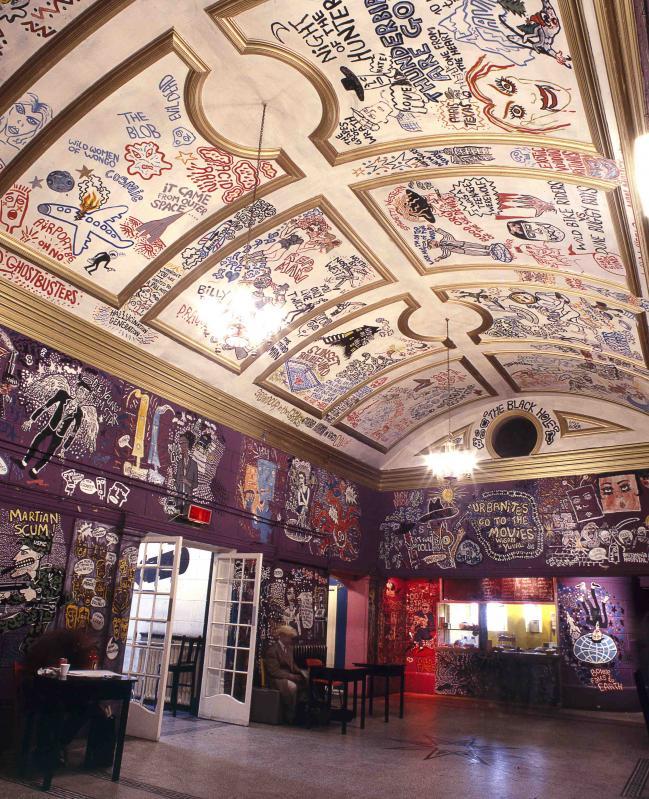 Scala Cinema (London) interior by Mark Wigan