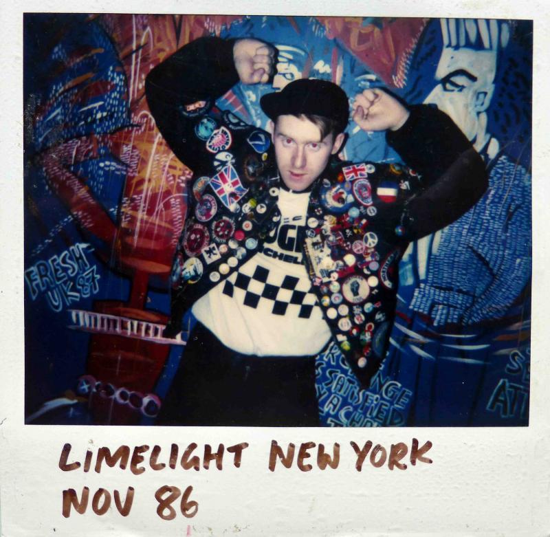 Mark Wigan, Limelight Club, London, 1986
