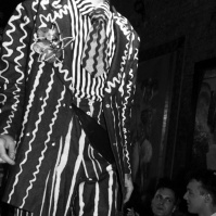 Fashion show presented by Leigh Bowery