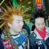 Japanese Punks, Sapporo, Japan, 2000