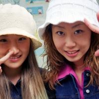 Young women, Sapporo, Japan, 2000