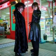 Goth style, Sapporo, Japan, 2000
