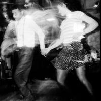 Salsa Dancers, London, mid 90s (?) ST#20