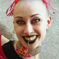 Cyber Girl, London, late 90s