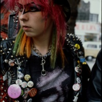 Punk girl on the King's Road, London, ST#04