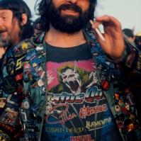 Heavy Metal fan at the 'Monsters of Rock' festival, ST#30