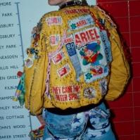 Musician Johnny Slut, London, late 80s, ST#53