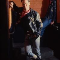 Rockers Shaun and Rick at the 59 Club, London, 1993 ST#83