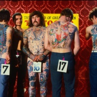 Best Large Male Tattoo, early 80s BA#62