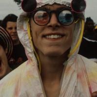 Raver at 'Fantazia' festival, 1993 ST#80