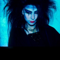 Bat Cave Goth Girl, London, 1982 ST#49