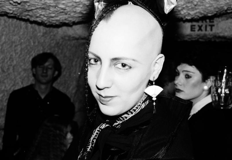 Michelle Clapton St Moritz club, Soho, London, early 80s ST#180