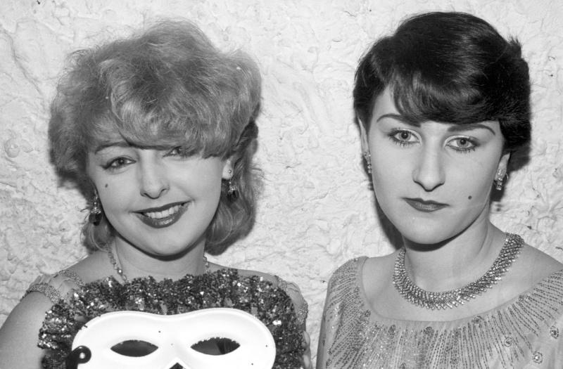 St Moritz club, Soho, London, early 80s ST#172