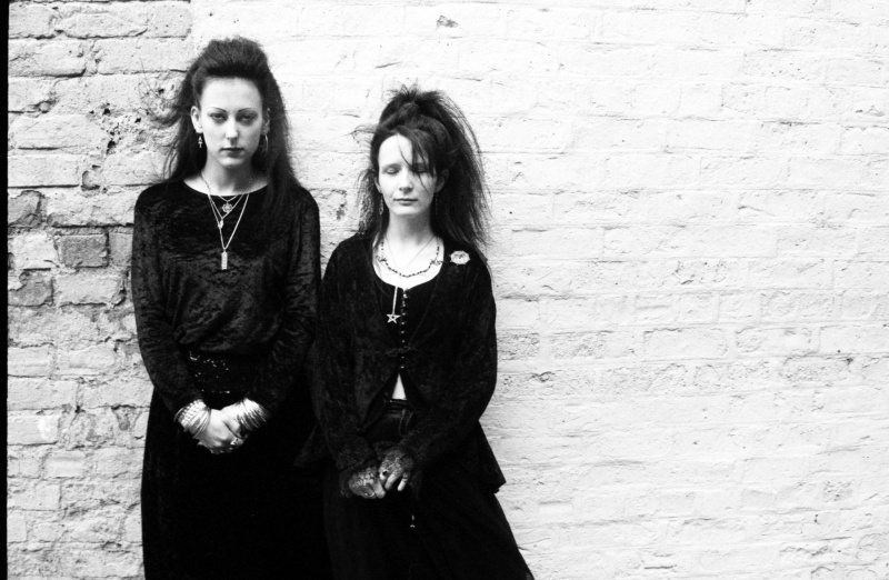 Whitby, England, Goth Weekend, 1992 ST#244