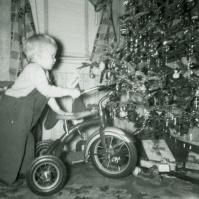 First bike - Christmas, 1949, Neptune City, NJ - TP#118