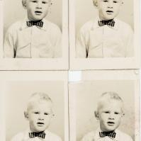 Posh boy - pretend, Ted 1948/9 -