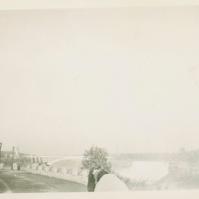 Charles Polhemus at Niagara Falls, 1949 - TP#105