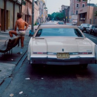 street scene, South Side, Philly (the real life setting of the 'Rocky' films), Philadelphia, USA, 1984 [photo © Ted Polhemus]